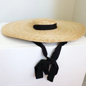 Accessories - Jacquemus Style Straw Hat